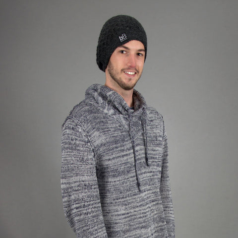 beyondBeanie bB grey boina, fashion for men, fashion for good