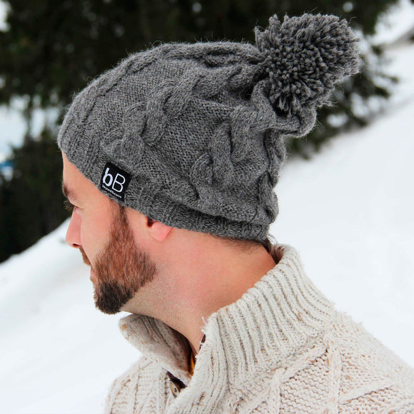 Grey Cosmos I 100% Alpaca wool
