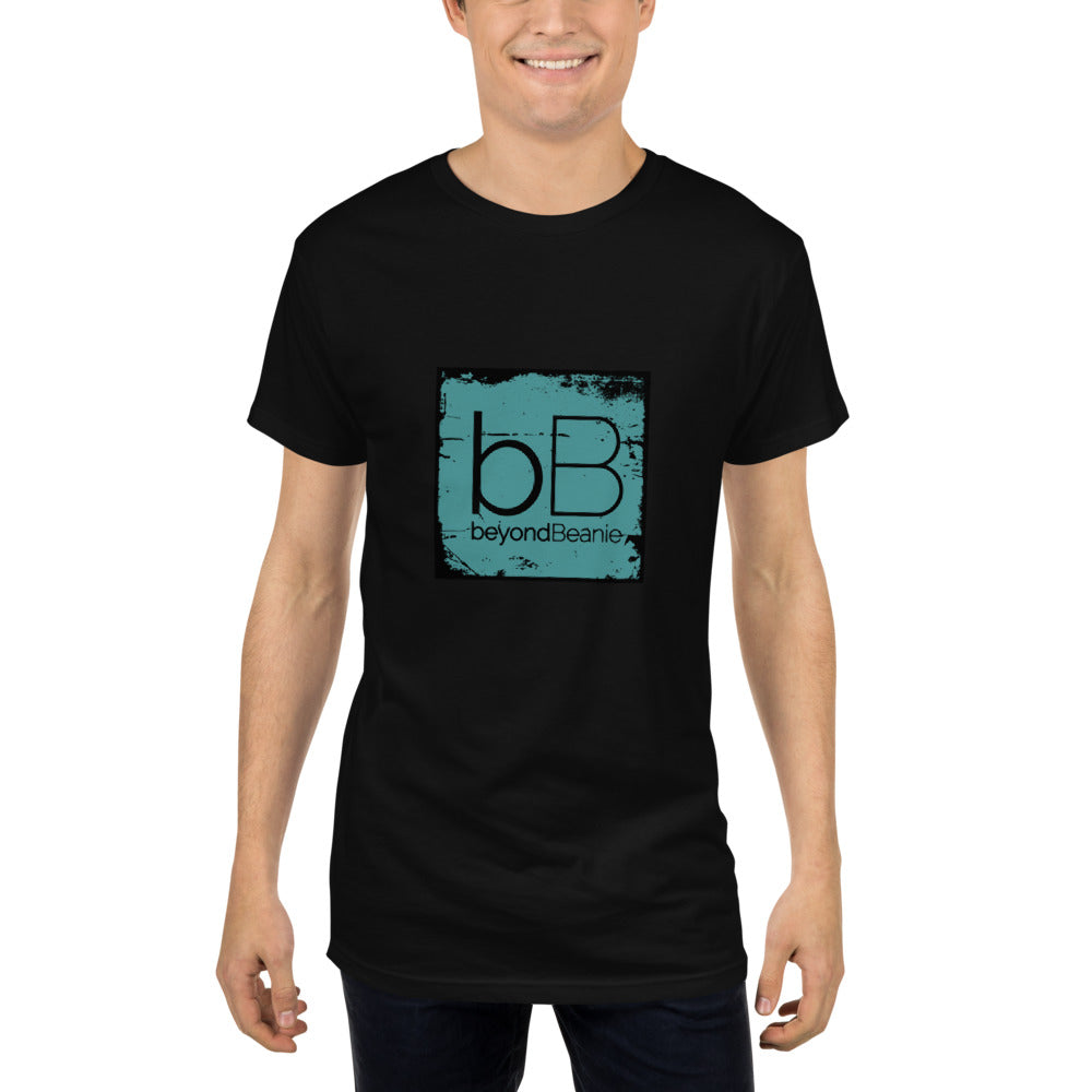 Vintage bB Logo  - Men's Long Body Urban T-shirt