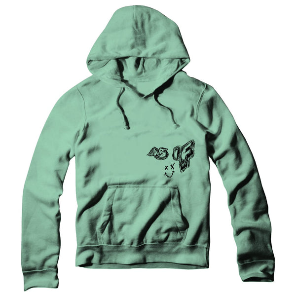 Jaden Hossler AS IF Mint Green Hoodie