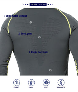 Men's Winter Gear Ski Thermal Underwear Snowboarding Shirts And Pants