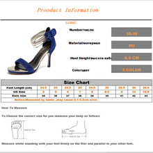 Load image into Gallery viewer, Elegant Gorgeous  Ladies Sequined Thin Heel Sexy Peep Toe Shoes