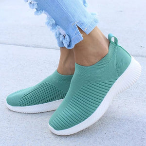 Female Four Seasonal Fashion Sport Casual Walking  Shoes