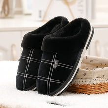Load image into Gallery viewer, Winter Ladies Warm Soft Comfort Fur Leopard Non-Slip Slippers