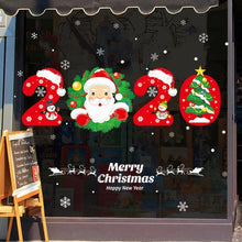 Load image into Gallery viewer, New Year Christmas Santa Claus Window & Wall Stcikers