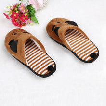 Load image into Gallery viewer, Winter Female Cartoon Panda Soft Comfort Slipper