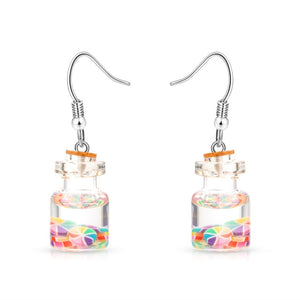 Korean Styles Cute Fruit Juice Earrings