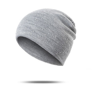 Fashionstyle Younger Knitted Beanie Comfortable Rhinestone / Pearl Hats