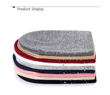 Load image into Gallery viewer, Fashionstyle Younger Knitted Beanie Comfortable Rhinestone / Pearl Hats