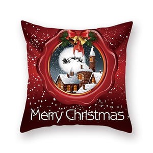 2021 Gorgeous Cartoon Christmas  Pillow Cushion