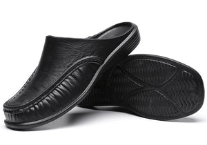 Classic Adult Soft Comfort Half Sole Slip-on Slippers