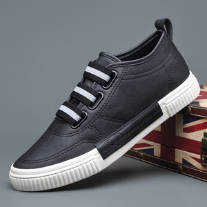 New British Fashion Men's Comfort Elastic Sewing Slip On Leisure Shoes