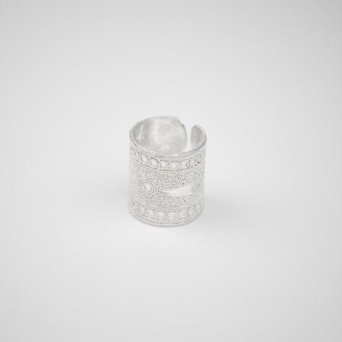 Filigree Adjustable Ring