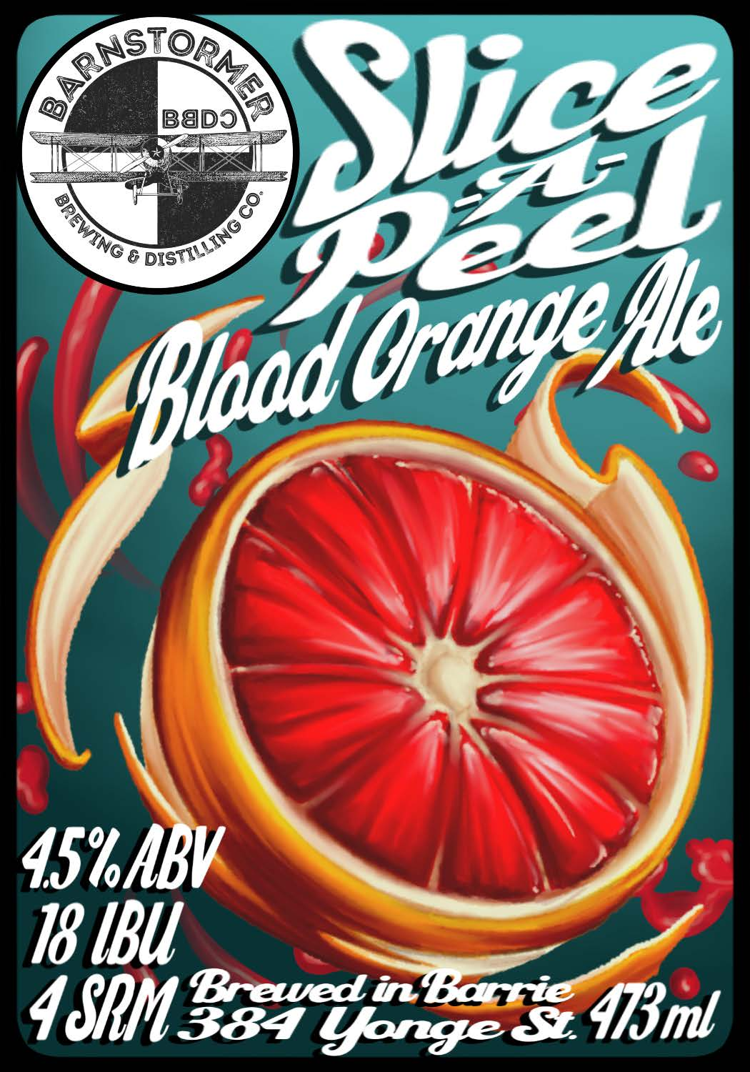 Slice-A-Peel Blood Orange Ale
