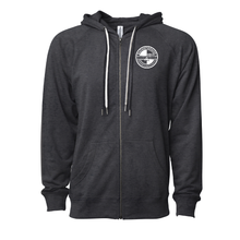 Load image into Gallery viewer, Lightweight Full Zip Hoodie