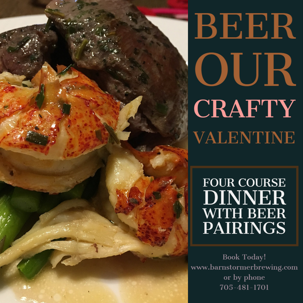 Beer My Crafty Valentine Dinner