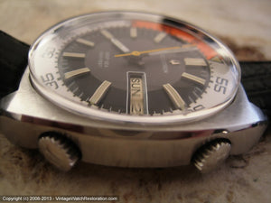Massive Deep Sea 666 Feet Accutron Divers, Electric, Massive 42x46mm
