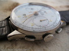 Load image into Gallery viewer, Rare Angelus Chronodato Day-Date-Month, Manual, Huge 38m