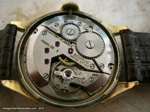 Benrus Original Patina Pie Shaped Dial with Day and Date Functions, Manual, 30mm