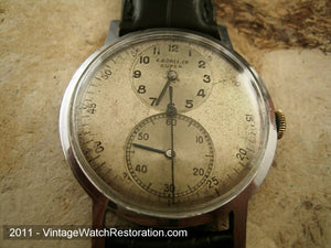 Rare Borel Regulator Original, Manual, Large 34mm