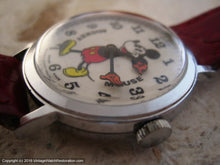 Load image into Gallery viewer, Fabulous Large Bradley Mickey Mouse, Manual, Large 34mm