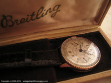 Load image into Gallery viewer, 18K Rose Gold Breitling Chronomat 217012 - The Holy Grail, Manual, Huge 36mm