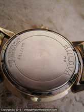 Load image into Gallery viewer, Bulova Whale with Date and Decoratively Style Roman Numbers, Manual, 33mm