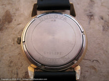 Load image into Gallery viewer, Bulova Black and Gold Roman Modern Dial, Manual, 33mm