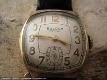 Load image into Gallery viewer, Bulvoa Square Tonneau Case with Ivory Dial, Manual, 27.5x35mm