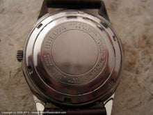 Load image into Gallery viewer, Bulova 23 Jewel Silver Dial with Original Box, Automatic, Large 34mm