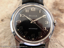 Load image into Gallery viewer, Bulova, Bold and Beautiful Black Dial, Manual, 32.5mm