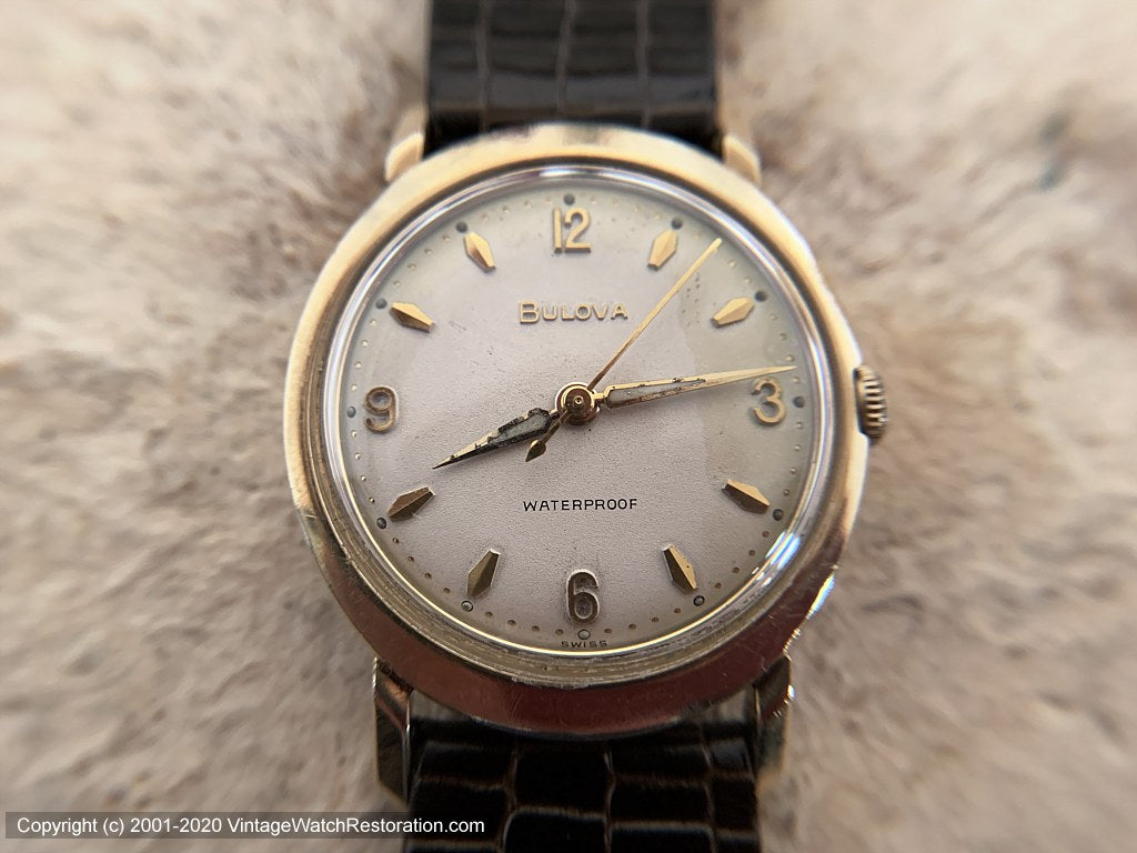 Bulova Oval Shape Case c.1962, Manual, 32x41mm