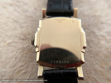 "Load image into Gallery viewer, Bulova in Lovely ""Stepped"" Case, Manual, 26x35.5mm"