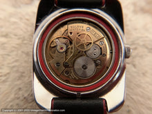 Load image into Gallery viewer, Bulova 'Sea King' Sporty Red and Black, Manual, 33.5x40mm