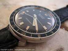 Load image into Gallery viewer, Bulova Accutron Astronaut B Series with Black Dial, Electric, Very Large 38.5mm