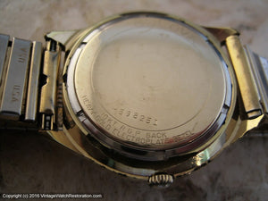 Bulova 'Whale Logo' with Date, Automatic, 36x39mm