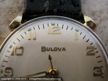 Load image into Gallery viewer, Bold and Beautiful Bulova with Turned Lugs, Manual, 32mm