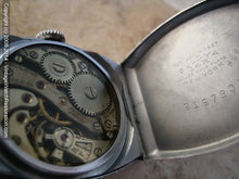 Load image into Gallery viewer, Rare Bulova Lindbergh Lone Eagle in Original Presentation Box, Manual, 27x36.5mm