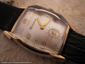 Bulova Gem with Art Deco Case, Manual, 26x36.5mm