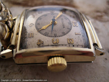 Load image into Gallery viewer, Bulvoa Square Doctor's Watch with Original Two Tone Dial, Manual, 25x25mm