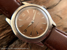 Load image into Gallery viewer, Benrus Original Coppery-Brown Dial, 3-Star, Automatic, 34mm
