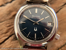 Load image into Gallery viewer, Bulova Accutron Blue Dial with Date, Electric, 34mm