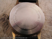 Load image into Gallery viewer, Caravelle (Bulova) All Original Black Dial Spendor - Signed 5X, Manual, 33.5mm