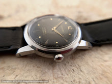 Load image into Gallery viewer, Certina with Military Style Black Dial 21 Rubis, Automatic, 33mm