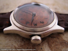 Load image into Gallery viewer, Crawford Military Style with Original Coppery-Rust Dial Color, Manual, 29.5mm