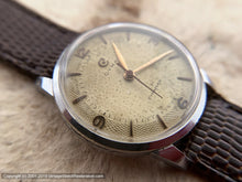 Load image into Gallery viewer, Cyma Cymaflex Perfectly Patinaed Dial circa WWII, Manual, 30.5mm