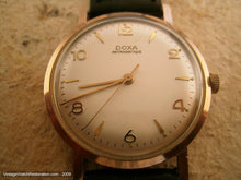 Load image into Gallery viewer, 14K Pink Gold Calatrava Style Doxa, Manual, Large 35mm