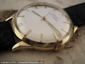 Large Classic 14K Gold Doxa, Manual, Large 35mm