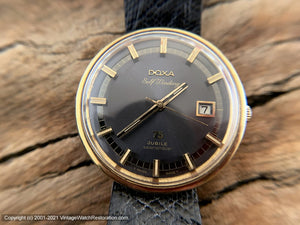 Doxa '75 Jubilee Searambler' Slate Gray Dial with Date, Automatic, 37mm
