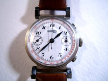 Load image into Gallery viewer, Eberhard Porcelain Chrono, Manual, Huge 38mm